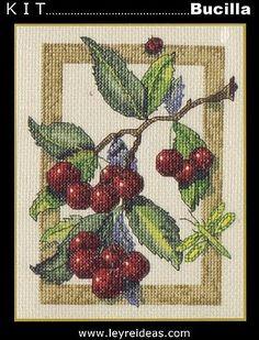 141 (374x490, 67Kb) Cross Stitch Fruit, Rubrics, Cross Stitching, Cactus Plants, Cartoon, Pattern, Crafts, Painting, Punto De Cruz