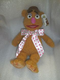 Disney Store Exclusive - Fozzie Bear - The Muppets soft toy 16 H - w/tag Teddy Bear, Toys, Disney, Character, Animals, Ebay, Activity Toys, Animaux, Animal
