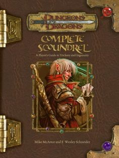Complete Scoundrel: A Player's Guide to Trickery and Ingenuity (Dungeons & Dragons Fantasy Roleplaying) PDF Mike McArtor Wizards of the Coast Hard to find Science Fiction, Pen And Paper Games, Noble Knight, Forgotten Realms, Tabletop Rpg, Wizards Of The Coast, Dungeons And Dragons, Playing Games, Sword Art