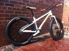 Fat bike part built #fatbike #bicycle