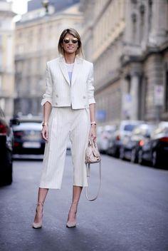 Helena Bordon in all white