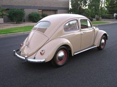 1955 vw bug, my first car. also had '56, '70 (great car), '76 convertable
