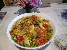 Raccontare un paese: le mie ricette: pranzo vegetariano