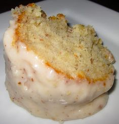 Haute + Heirloom: Revamped: Even Better Almond Poundcake with Creamy Almond Glaze