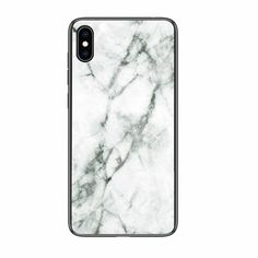 Luxury Marble Phone Case for iPhone - White / for iPhone XS MAX