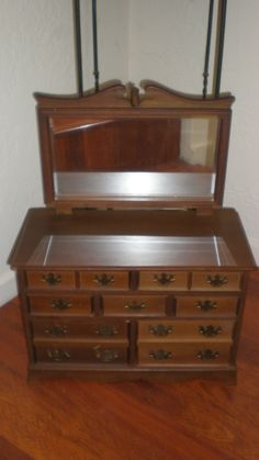 a salesman sample of dresser