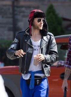 Jared Leto in NYC (05/15/2015).