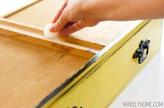 How to Unstick a Sticky Drawer in Seconds