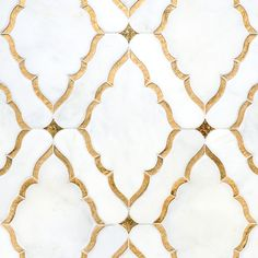 gold leaf mosaic tile