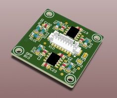 A small PCB design for a Optical Position Sensor Electronics Storage, Electronics Projects, Electronics Gadgets, Electronic Engineering, Electrical Engineering, Travel Gadgets, Circuit Board, Engineers, Boards