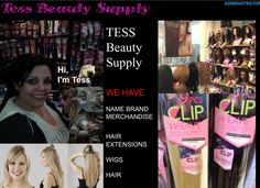 Tess Beauty Supply corner of 27th and National and grand Ave mall huge selection of wigs and hair extensions stop say hi luv YA milwaukee