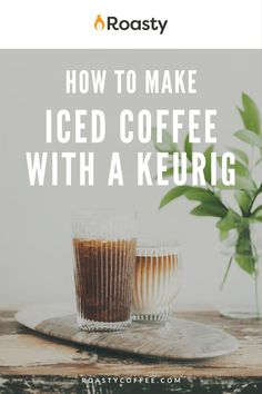 If you're trying to avoid paying money for an iced coffee when you already have a Keurig at home, you've come to the right place! It's 100% possible and surprisingly easy to do! Use our how-to guide to find out tips and tricks we've put together so you can get the most out of your home-brewed iced coffee. #coffeelovers #icedcoffee #roastycoffee #keurigcoffee Thai Iced Coffee, Vietnamese Iced Coffee, Making Cold Brew Coffee, How To Make Ice Coffee, What Is A Frappe, Coffee Course, Spanish Coffee, Coffee Brownies, Nitro Coffee