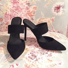 Asos mules NWOT Black pointed mules. Never been worn no tags. Sold out online. Final price, keeping if they don't sell ASOS Shoes Mules & Clogs