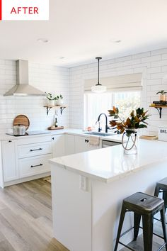 25 Examples The Most Efficient U-shaped Kitchen Design For Your Dream Kitchen Home Decor Kitchen, Diy Kitchen, Kitchen Interior, Home Kitchens, Kitchen Dining, Ikea Kitchens, Ikea Kitchen Remodel, Small Kitchen Renovations, Small Kitchen Layouts