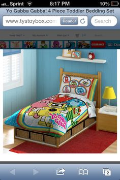 1000 images about tayler 39 s big girl room on pinterest yo gabba gabba comforter and birthdays - Yo gabba gabba bedroom decor ...