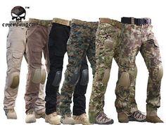Tactical Pants with Knee Pads Emerson Camping Hiking Hunting Pants CP Mandrake   eBay