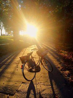 my #dutch #bicycle in #Krakow, Poland