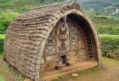 Traditional tribal hut of Toda tribes of Nilgiris