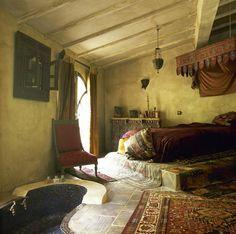 Bedroom in Moroccan