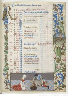 Horae ad usum Parisiensem. 1475-1500, BnF, Département des manuscrits, Latin 1173 6r