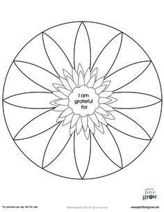 Mandala à compléter