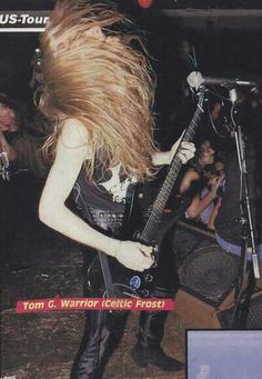 Celtic Frost- Tom G. Warrior