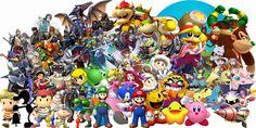 Super Smash Bros. Universe Character Wallpaper by ~NintendoFanDj on deviantART