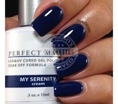 LeChat Perfect Match Gel 'My Serenity'.