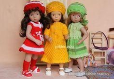 """""""Снимите это немедленно!"""" Высокая мода из Парижа от Minouche Petitkollin, Kathe Kruse. / Другие интересные игровые куклы для девочек / Бэйбики. Куклы фото. Одежда для кукол"""