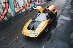 One of my favorites. The iconic C 111 is back on the roads of Berlin during the Mercedes-Benz Fashion Week!