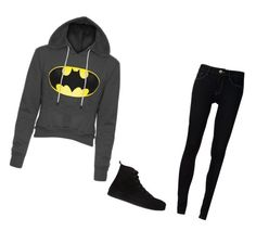 """""""'Cause I am batman"""" by billie-lee-i ❤ liked on Polyvore featuring Ström and Ann Demeulemeester"""