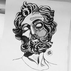 #sketch #Draw #drawing #valesom #artwork #creative #Draw #drawing #apprentice #tattooapprentice #tattsketches #tattoo #design #picoftheday #illustration #picture #practice #sculpture  #dublin #dublintattoo #italianart #flashwork #flashtattoo #apprenticesig #traditional #ink #black #bernini #art #artist #artistmafia