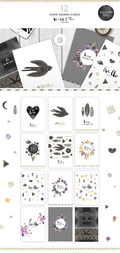 Wild&Free collection by SoNice on Creative Market