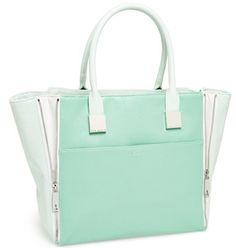 Beautiful #TedBaker shopper in #mint http://rstyle.me/n/f2suynyg6