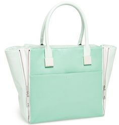 Beautiful #TedBaker shopper in #mint http://rstyle.me/n/f2suynyg6