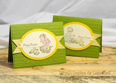 Heaven Blessed Easter Card by StampWithTiff on Etsy