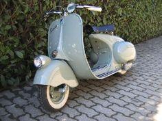 1946 Vespa 98, the original Vespa.