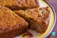 a delicious moist banana walnut cake recipe. Moist Banana Walnut cake Recipe from Grandmothers Kitchen. Lots of bananas, no yogurt. Banana Walnut Cake, Pecan Cake, Food Cakes, Cooker Cake, Cookie Recipes, Dessert Recipes, Rice Cooker Recipes, Delicious Desserts, Yummy Food