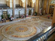 Minton floor at St George's Hall, 29 April 2007 Liverpool History, Liverpool Home, St Georges Hall, St George's, Mount Pleasant, Old And New, My Images, Photo Credit, Taj Mahal