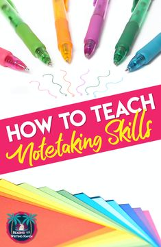 Teach notetaking naturally by embedding it into your lessons. This post contains different notetaking strategy options and teaching considerings. #NotetakingStrategies #MiddleSchoolELA #HighSchoolELA #SoftSkills High School History, Middle School Science, Elementary Science, Science Classroom, Writing Lessons, Teaching Writing, Teaching Tools, Note Taking Strategies, Avid Strategies