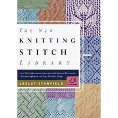 The New Knitting Stitch Library - Lesley Stanfield #knitting #stitchdictionary #wishlist