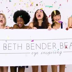 Have you seen our new #EyeCandyStencils commercial yet?! 😻  So many amazing looks you can create with our stencils,💕 💋  #bethbenderbeauty https://video.buffer.com/v/5828fd441fcd5d3b306a3b86