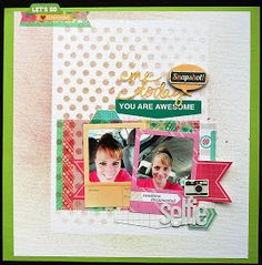 My life... and all that goes with it: Selfie (Scrap Our Stash Challenge #17)
