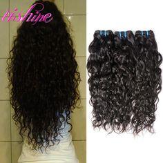 Peruvian Virgin Hair Water Wave Peruvian Curly Weave Human Hair Extensions Ocean Wave 3 Bundles Unprocessed Natural Wave Hair