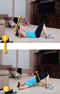 """Ab KIller! It really works! I call it the """"Super Crunches"""" SO PAINFUL"""