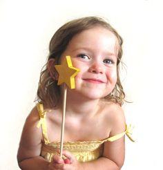 Yellow magic wand.