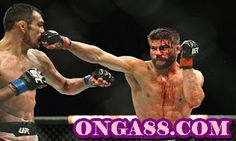 Josh Thomson full fight video highlights from UFC Fight Night co-main event of FOX Sports 1 last night (Weds., July inside Valley View Casino in San Diego, Calif., which turned into a bloodbath. Brendan Schaub, Ufc Fight Night, Wwe Champions, Fox Sports, Brazilian Jiu Jitsu, Mixed Martial Arts, Wedding Night, Muay Thai, Hair