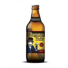 Cerveja Brasileira Trigo Burgman Weiss 600ml