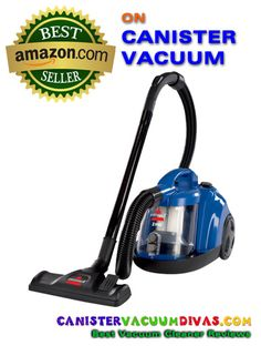 The special pick Best Seller on Canister Vacuum at Amazon.com