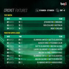ম্যাচের সিডিউল দেখুন baji555! এখনই baji555 এ বেট ধরুন এবং উইন বিগ! #baji #Sports #Cricket #Schedule #Fixtures Cricket Fixtures, V Australia, New Zealand, England, The Unit, English, British, United Kingdom